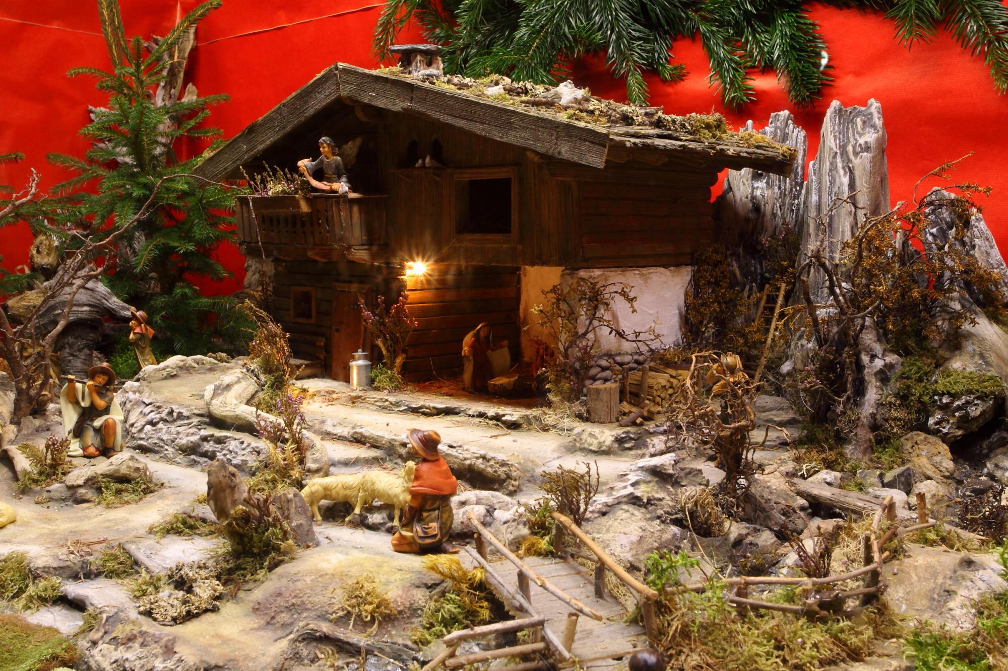 Nativity scene exhibition in Grossarl
