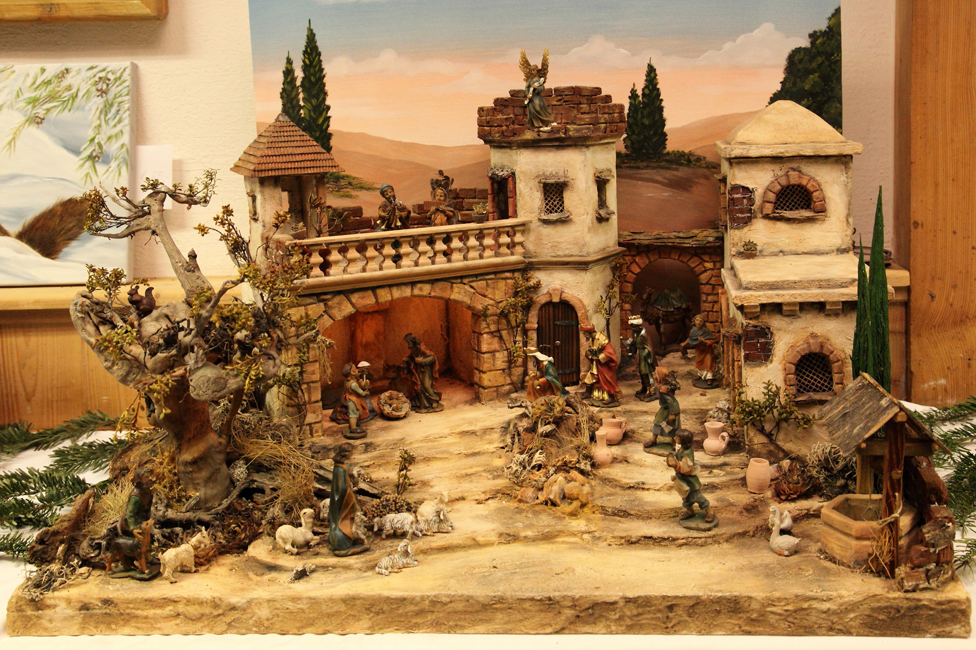 Nativity scene exhibition in Grossarl