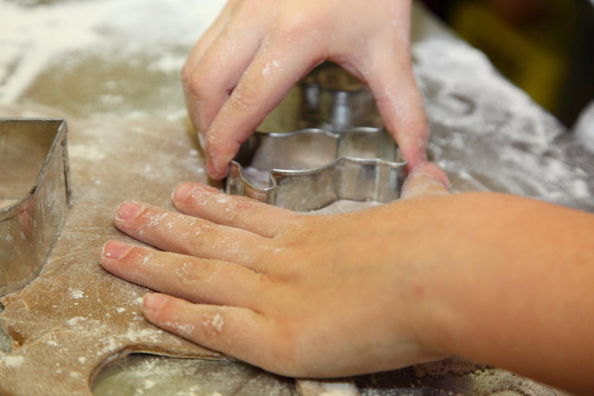 Kinder-Keksbackstube in Großarl