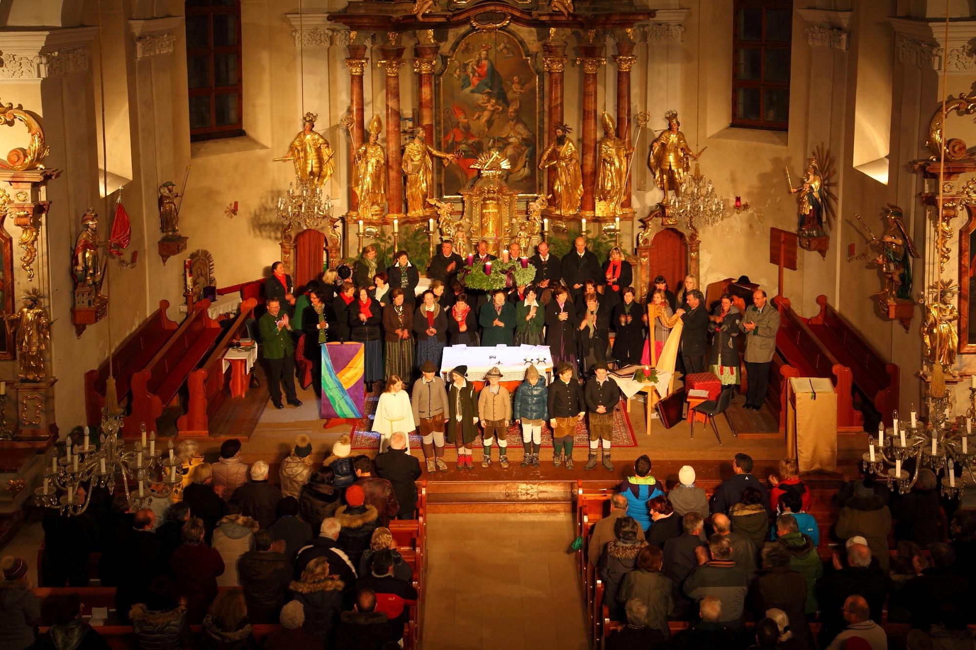 Adventsingen in der Pfarrkirche Großarl