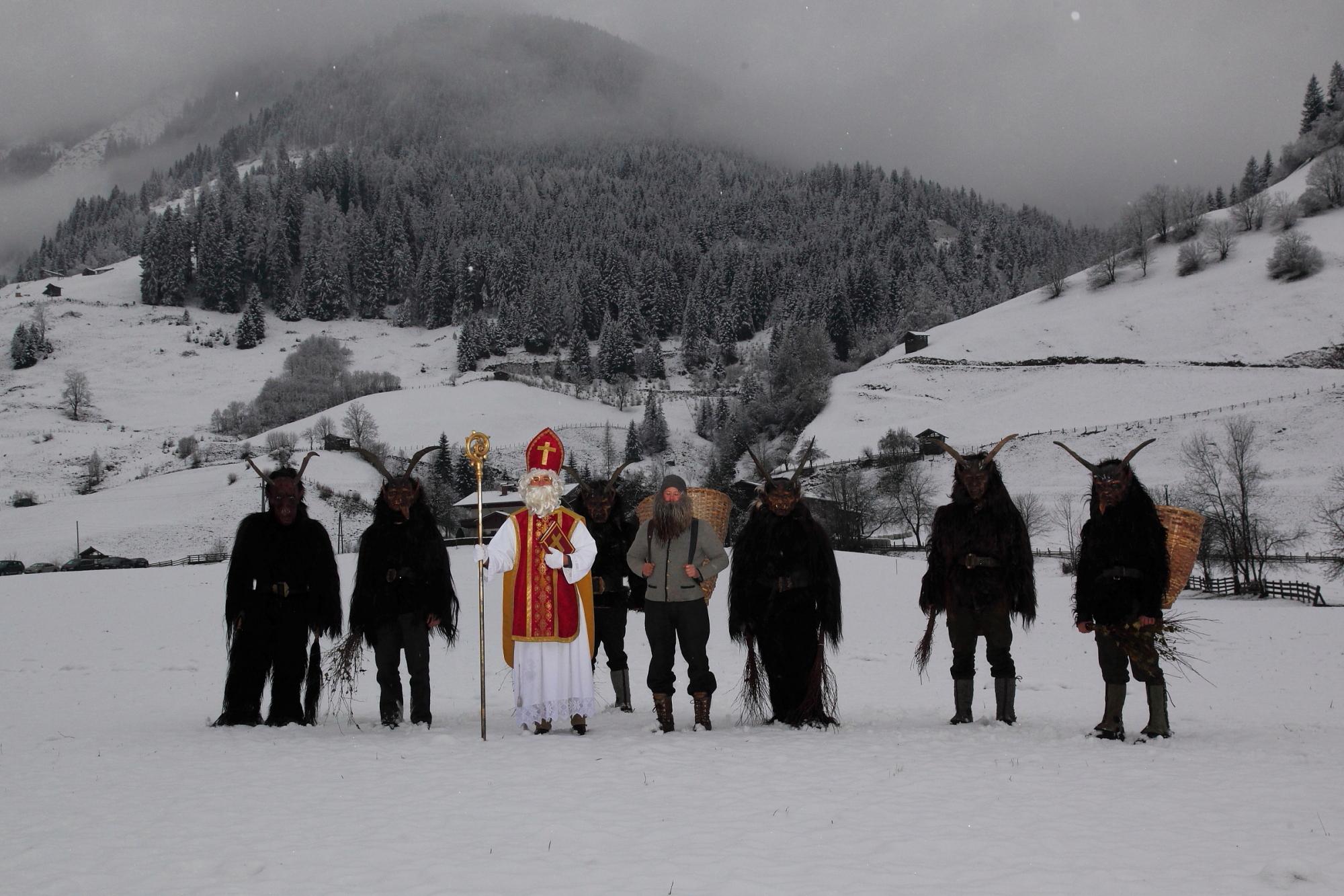 Nikolaus und Krampus im Großarltal