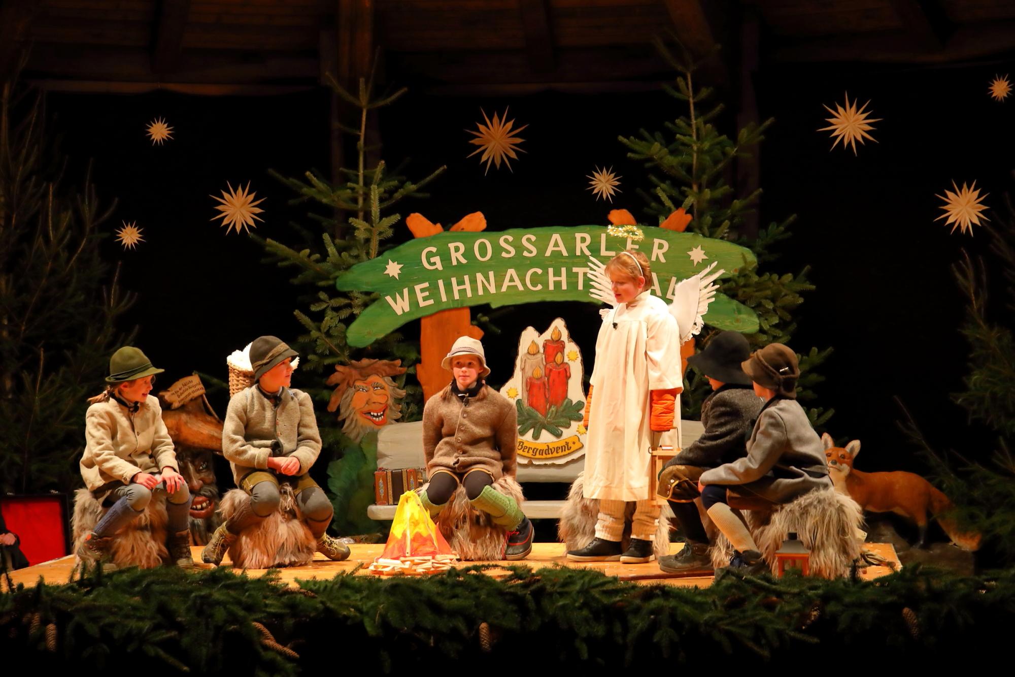 Teatro dei pastori a Grossarl