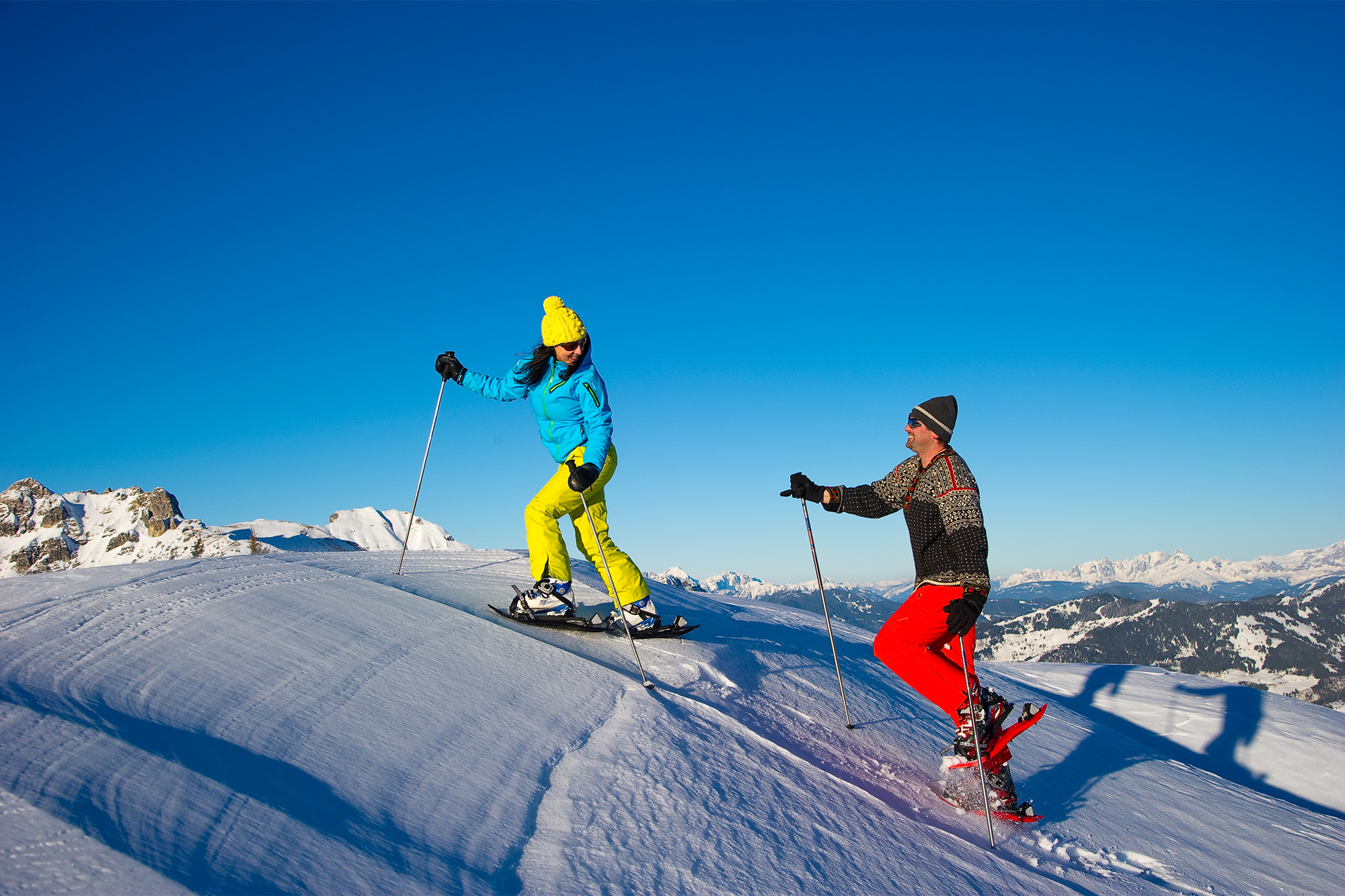 Snowshoeing in Grossarltal