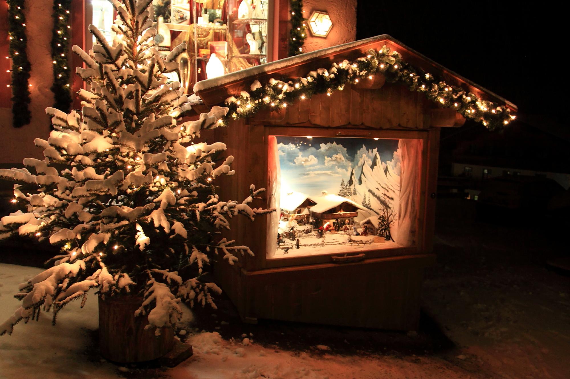 Nativity path in Grossarl