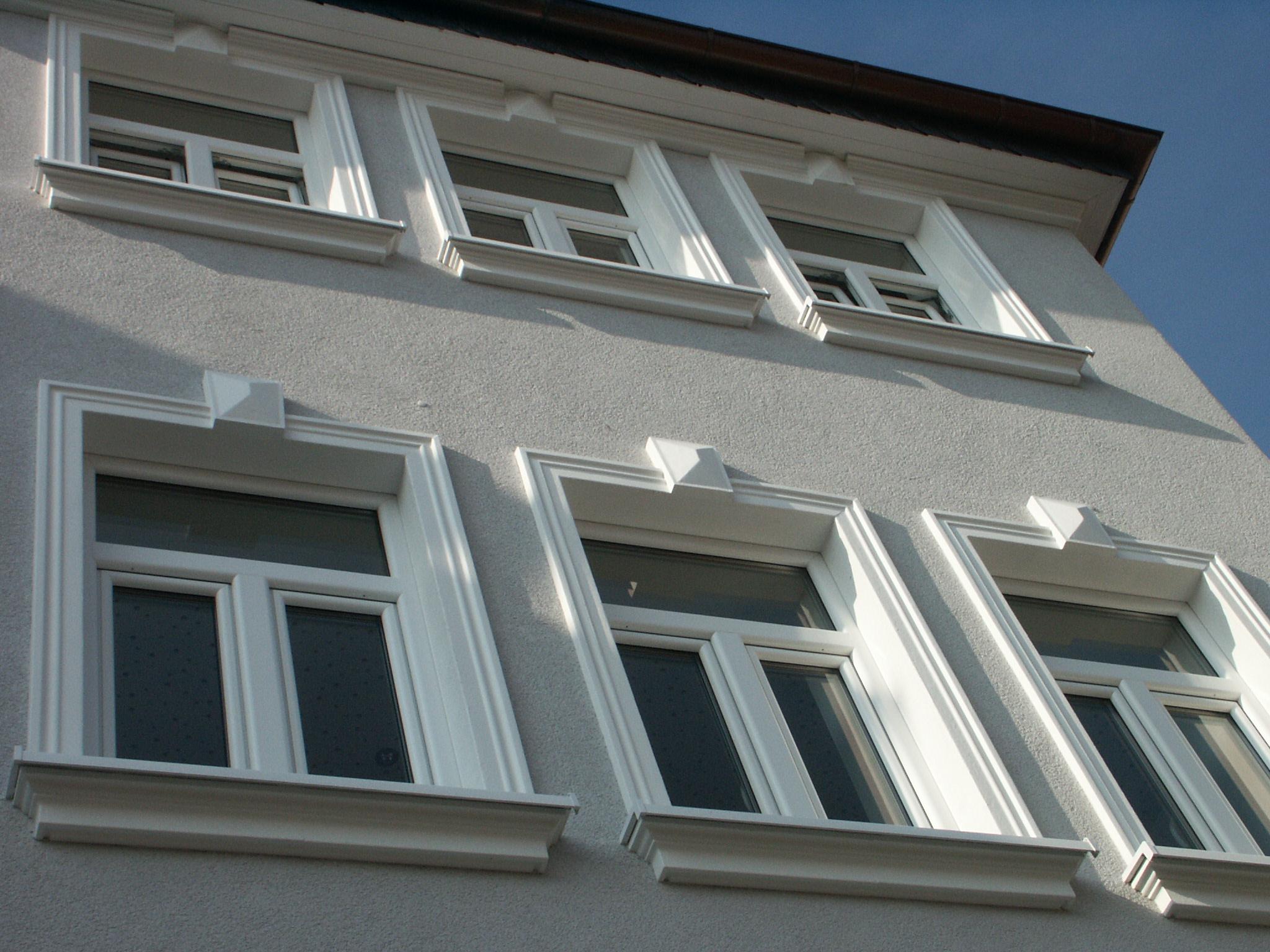 corniche Kl 4 et rebord de fenêtre KP 1