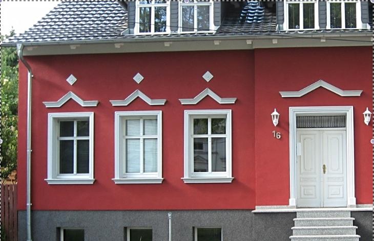 corniche KL 3 avec rebord de fenêtre KP 1