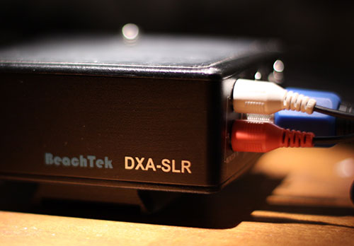 BaeachTek DXA-SLR Audiomischer für DSLR