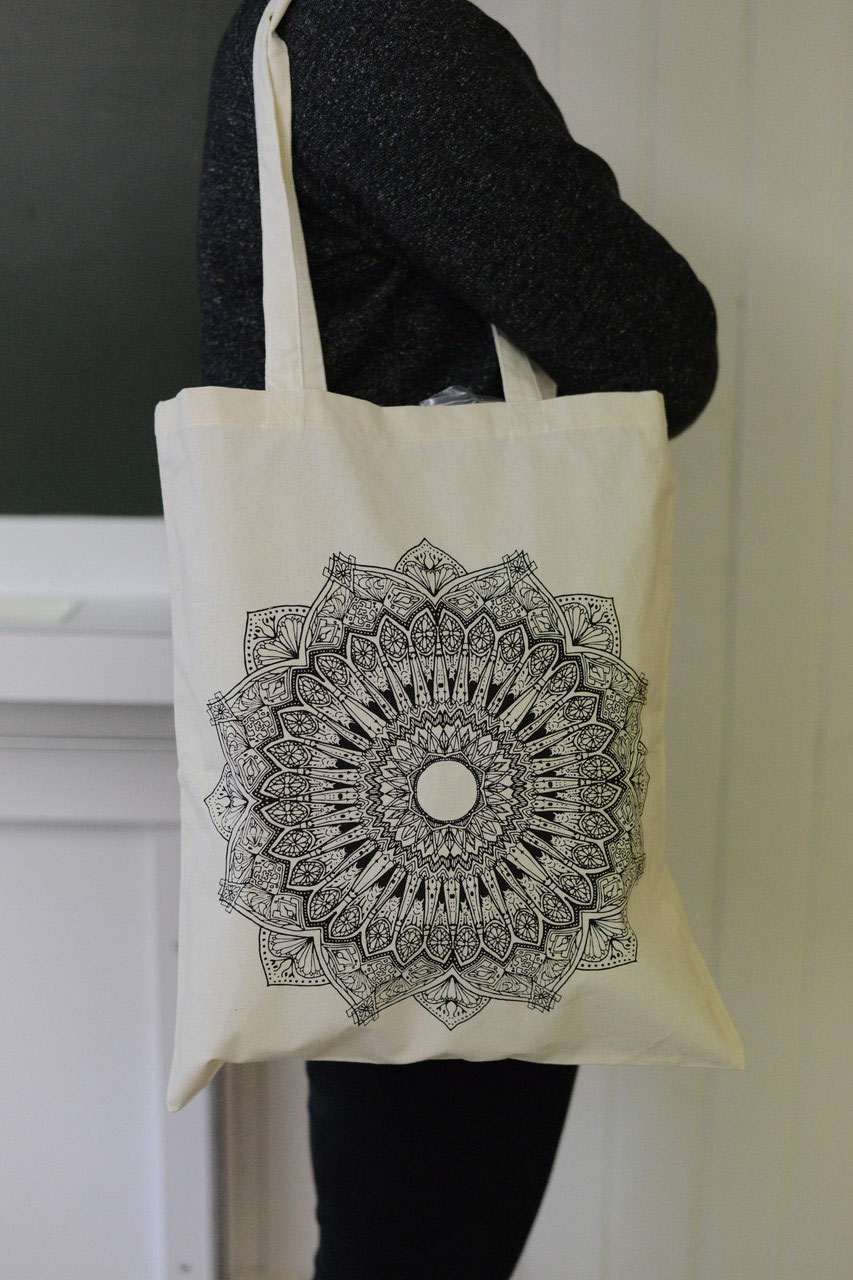 cbbc0101d8559 Stofftasche Mandala - Stofftaschen - wir bedrucken Produkte mit ...