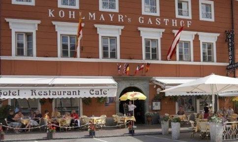 Der Gasthof Kohlmayr in der Künstlerstadt Gmünd