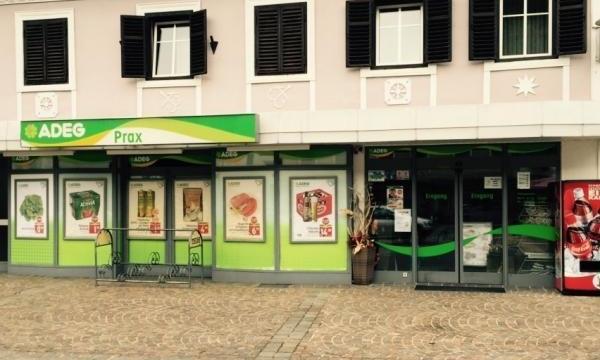 Das ADEG Lebensmittelgeschäft Prax in Sachsenburg