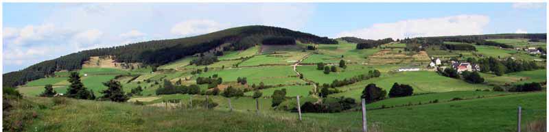 Le Mont Mouchet, par Georges Charles