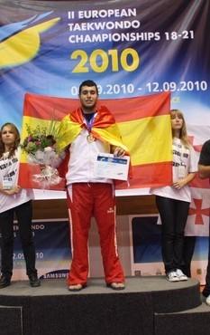 FRANCISCO DENIZ CAMPEON DE EUROPA SUB 21  +87kg   y Campeon de España Universitario 2012
