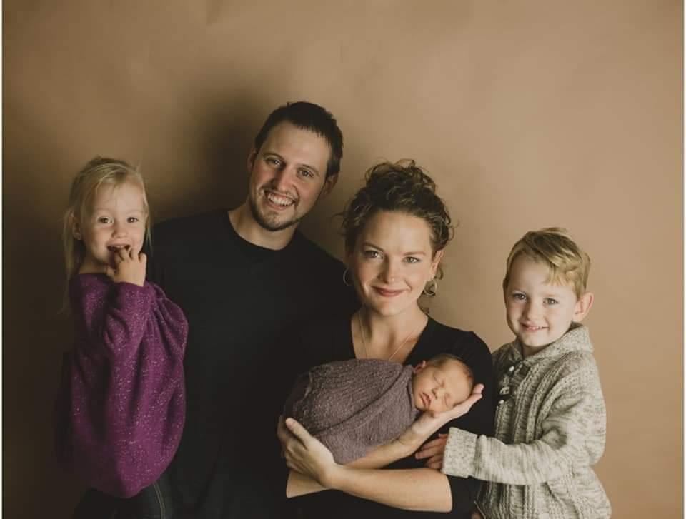 Josh, Grace, and children Lily, Rosalie, and Mason! Fall 2018