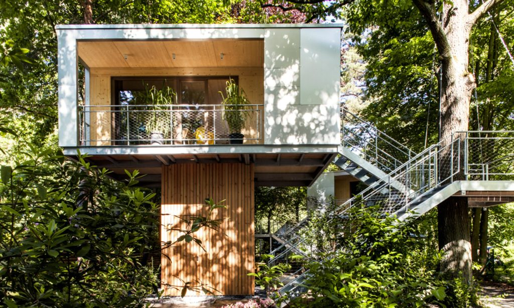 URBAN TREE HOUSE (Berlino, Germania, 2017) arch. Andreas Wenning