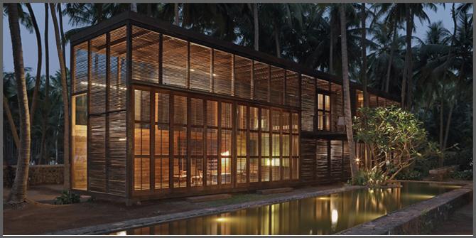 PALMYRA HOUSE (Maharashtra, India, 2007) arch. Bijoy Jain