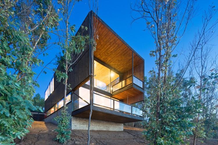 CORTES HOUSE (Cile, 2014) WMR Arquitectos