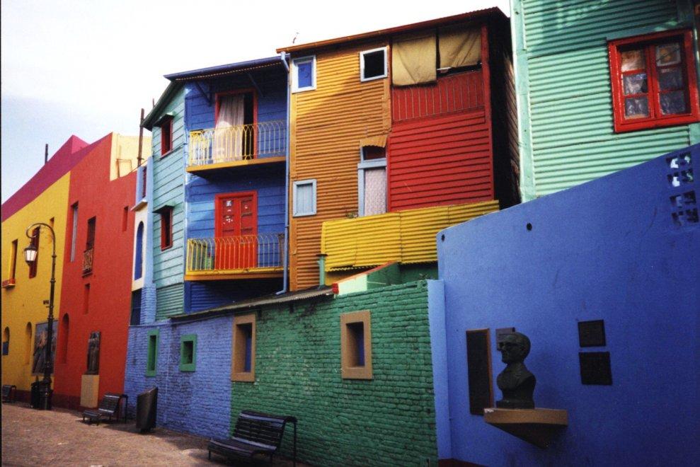 Barrio di Boca Buenos Aires (Argentina)