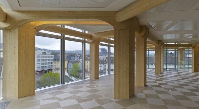 TAMEDIA COMPANY (Zurigo, Svizzera, 2013) arch. Shigeru Ban