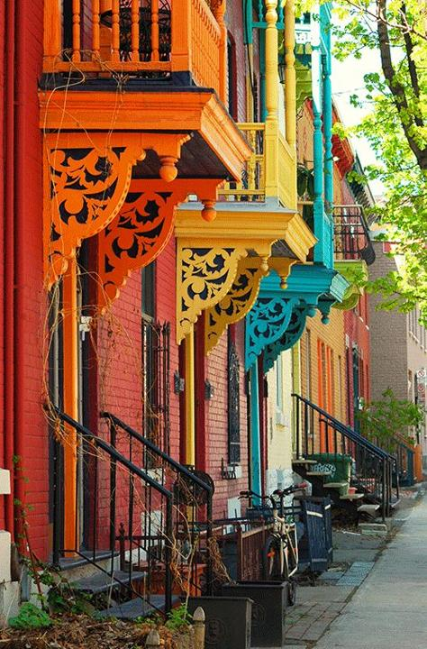 Plateau Mont Royal Montreal (Canada)