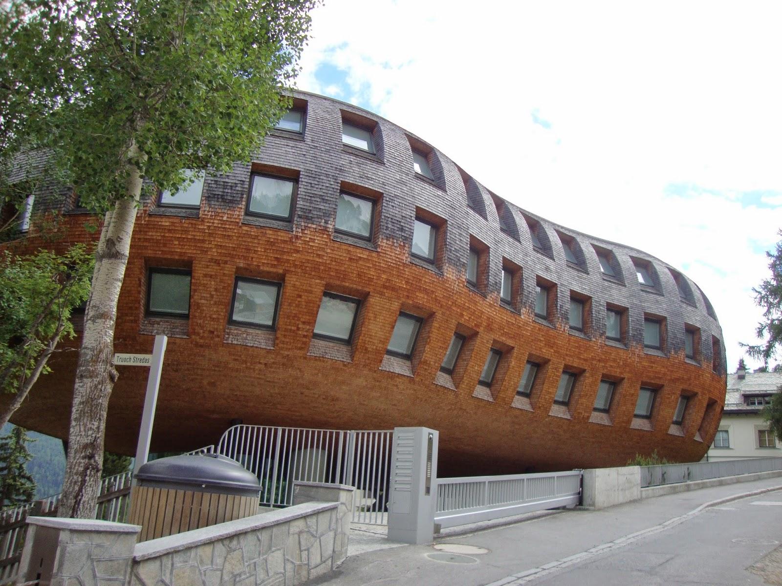 CHESA FUTURA (St. Moritz, Svizzera, 2004) Norman Foster & Partners
