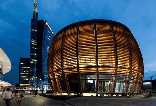 UNICREDIT PAVILLON (Milano, Italia, 2015) arch. Michele De Lucchi