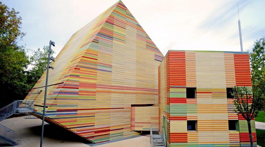 AUDITORIUM PARCO DELLA MUSICA (L'Aquila, Italia, 2012) Arch. Renzo Piano Building Workshop