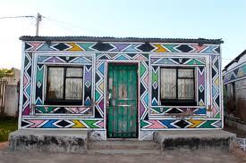 Casa Esther Mahlangu a Middelburg (Sudafrica)