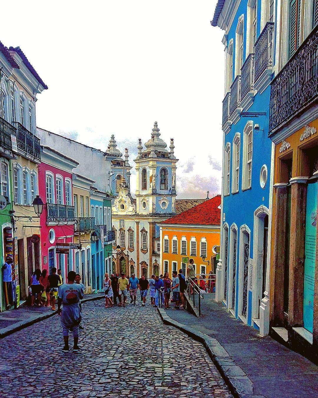 Pelourinho a Salvador de Bahia (Brasile)