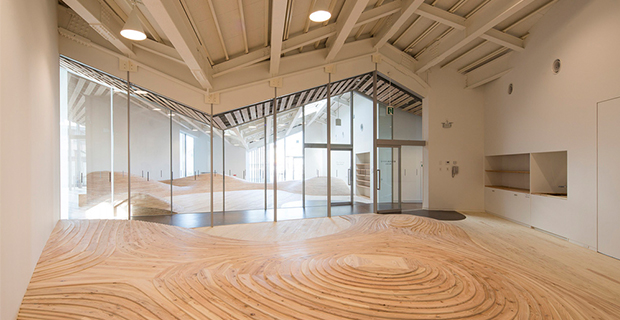 TOWADA COMMUNITY CENTER (Towada, Giappone, 2015) arch. Kengo Kuma