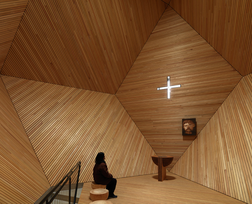 GARNETKAPELLE (Austria, 2014) arch. Mario Botta