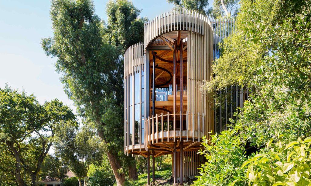 GUEST TREE HOUSE (Città del Capo, Sudafrica, 2017) arch. Malan Vorster
