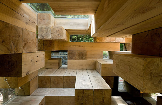 FINAL WOODEN HOUSE (Giappone, 2006) arch. Soul Fuijmoto