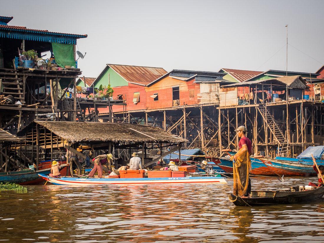 Kompong-Khleang (Cambogia)