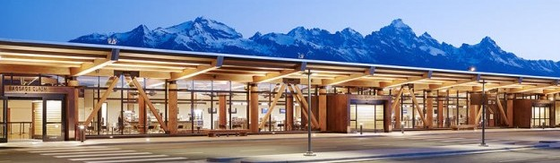 JACKSON HOLE AIRPORT (Wyoming, USA, 2010) arch. Arthur Gensler