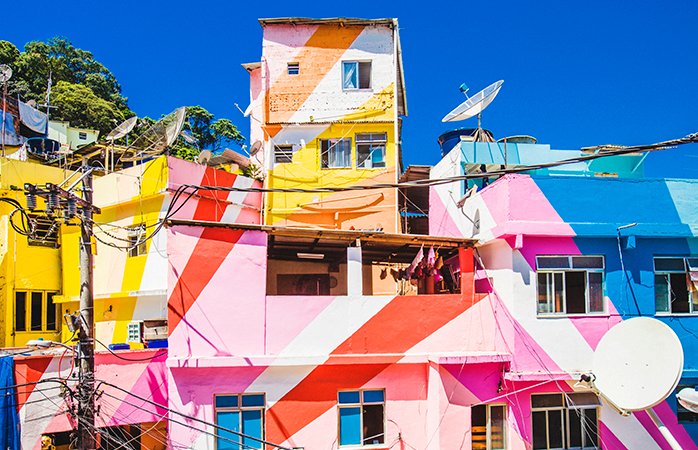 Santa Marta di Rio de Janeiro (Brasile)