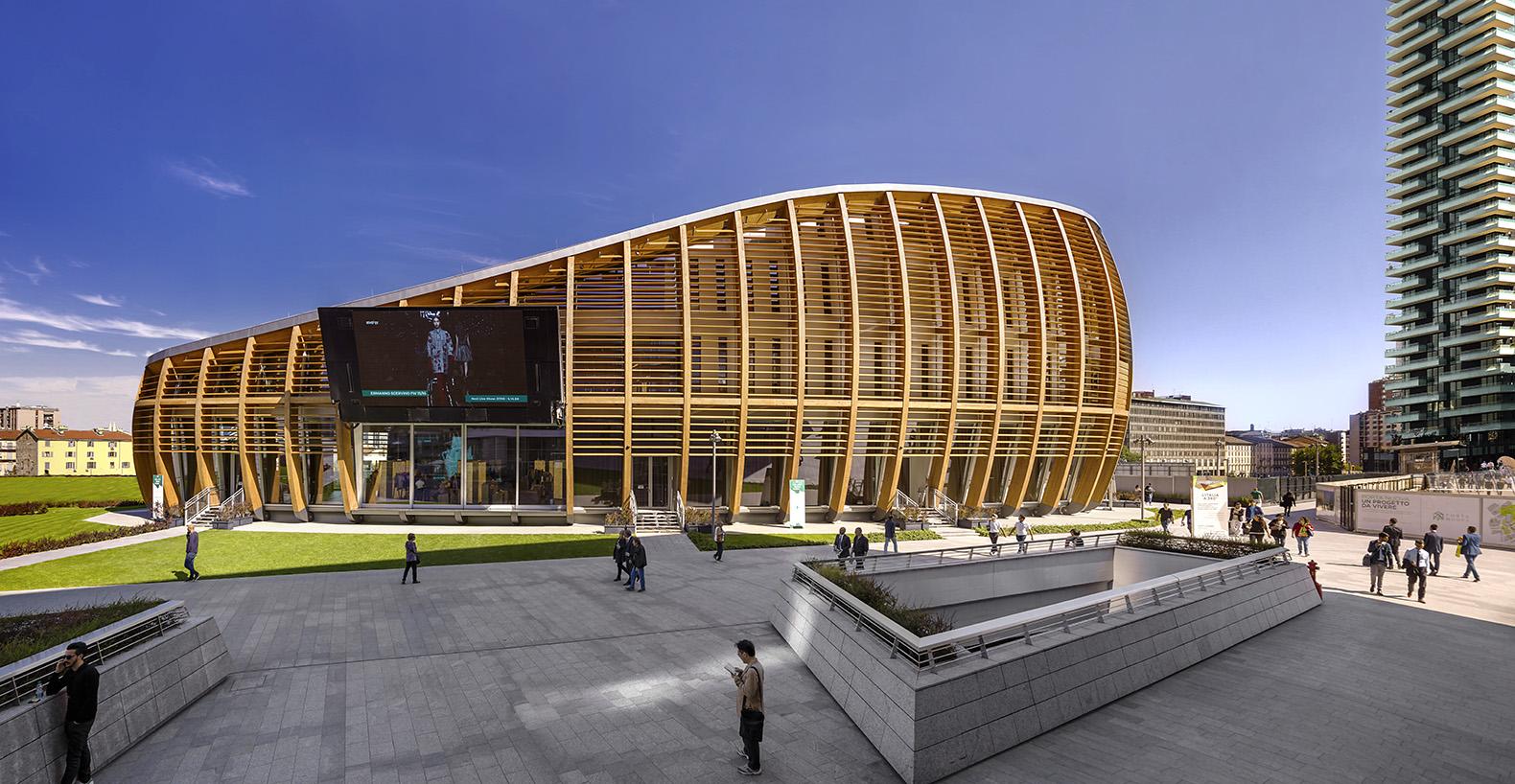 UNICREDIT PAVILLON (Milano, talia, 2015) arch. Michele De Lucchi