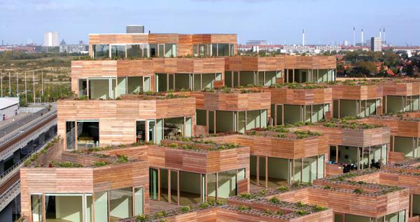 GREEN MOUTAIN DWELLINGS (Tallin, Estonia, 2013) arch. Bjarke Ingels Group