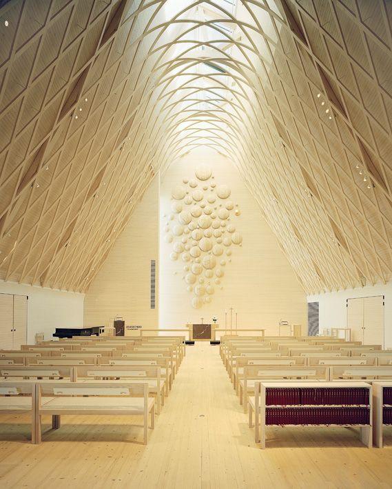 KOUKKALA CHURCH (Finlandia, 2010) arch.  Lassila Hirvilammi