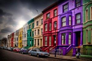 Notting Hill Londra (Inghilterra)