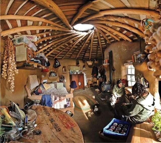 CASA IN LEGNO NATURALE (Argentina) anonimo in architettura spontanea
