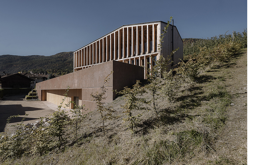 NUOVA CASA SOCIALE (Caltron di Cles TN, Italia) arch. Mirko Franzoso