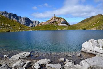 Monte Coglians e lago Volaia (Forni Avoltri)