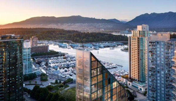 TERRACE HOUSE (Vancouver, Canada, 2018-20) arch. Shigeru Ban