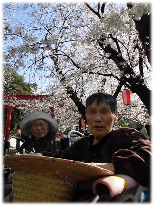 勝神社に素敵な笑顔