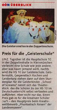 Oberösterreichische Nachrichten  vom 26. Mai 2004