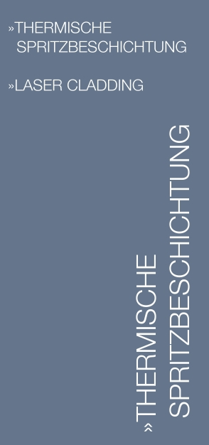 Thermische Spritzbeschichtungen, Laser Cladding