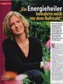 Erfolgreiche Rheuma Behandlung durch Heilpraktiker - Pressebericht + Foto  Zeitschrift Tina