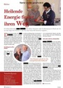 Wundbrand von Heiler Ralf Drevermann erfolgreich behandelt - Pressebericht + Foto Zeitschrift Fliege