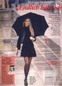 Model von Rückenschmerzen geheilt - Pressebericht + Foto  Zeitschrift Illu der Frau