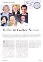 Wörishofer Herbst: Heiler in Gottes Namen  - Pressebericht + Foto Zeitschrift Fliege
